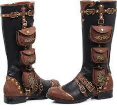steampunk men's boots - Google Search