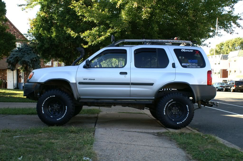 2002 Nissan Xterra Tire Size. 1 25in Wheel Spacers Nissan Xterra With 2001  Tire ...