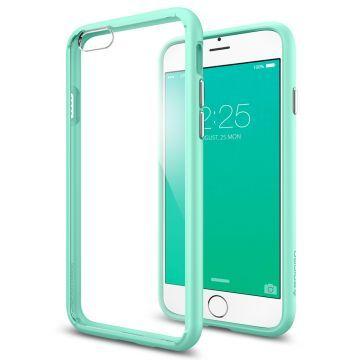 iPhone 6s Kılıf, Spigen Ultra Hybrid - Mint Green