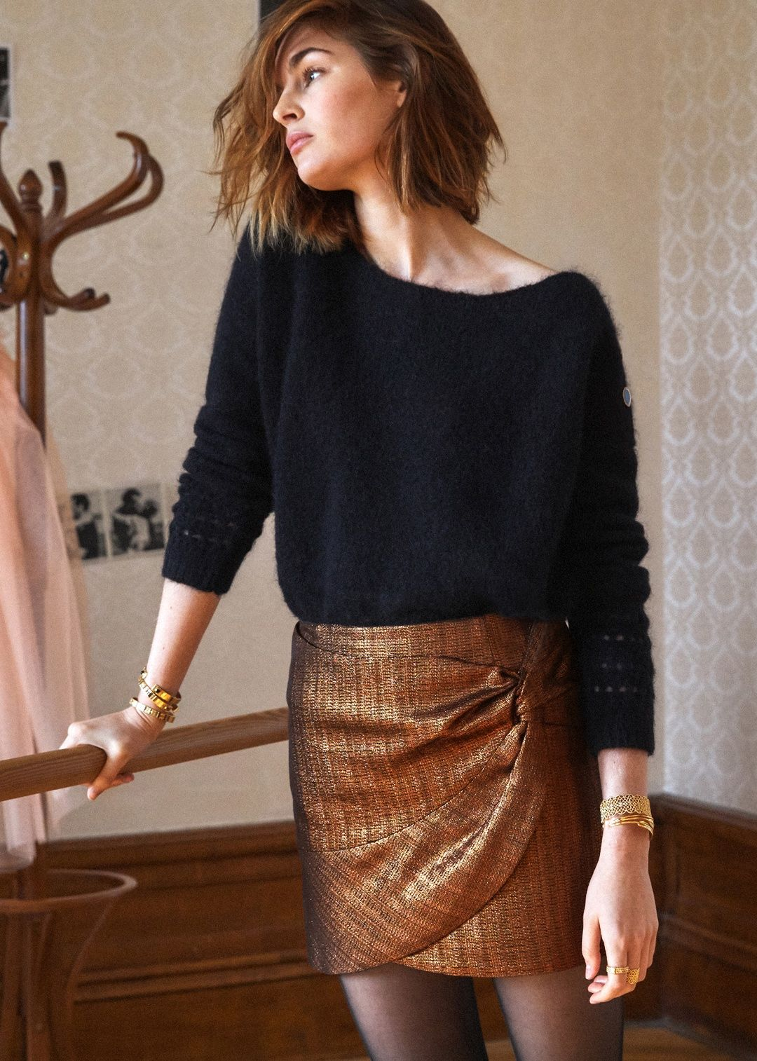 Sézane path skirt wish list pinterest cheryl and winter