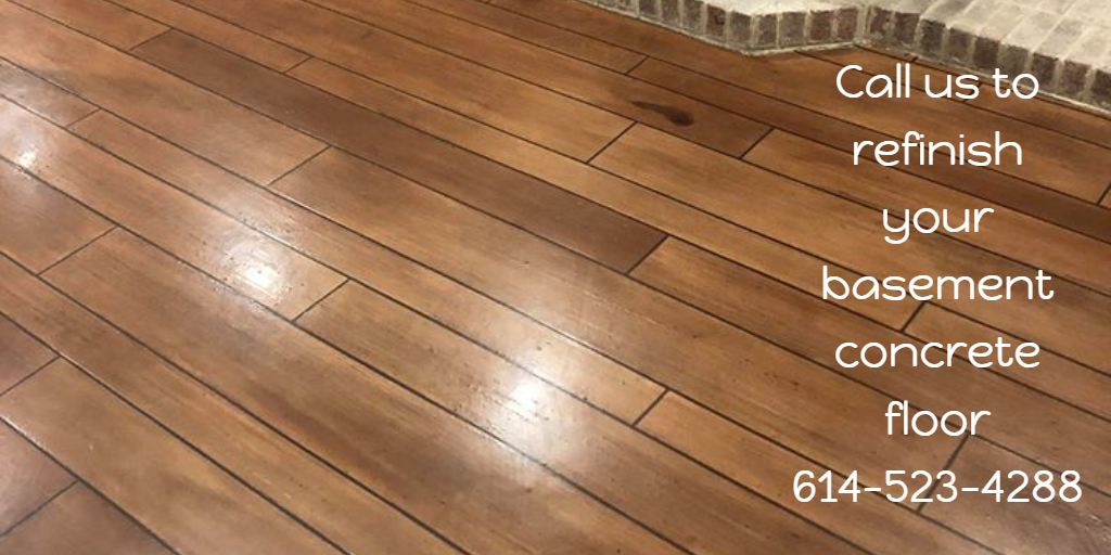 Call Us To Refinish Your Basement Concrete Floor 614 523
