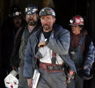 Image result for coal miners exiting a mine