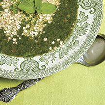 Nettle Soup: Prep Time: 20 minutes  Cook Time: 30 minutes Makes: 4-5 servings