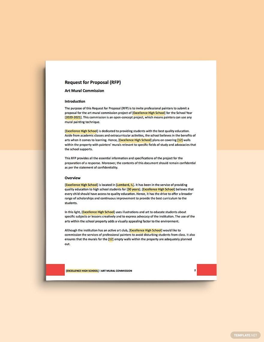 Document Management Proposal Template Business Proposal Template Request For Proposal Proposal Templates
