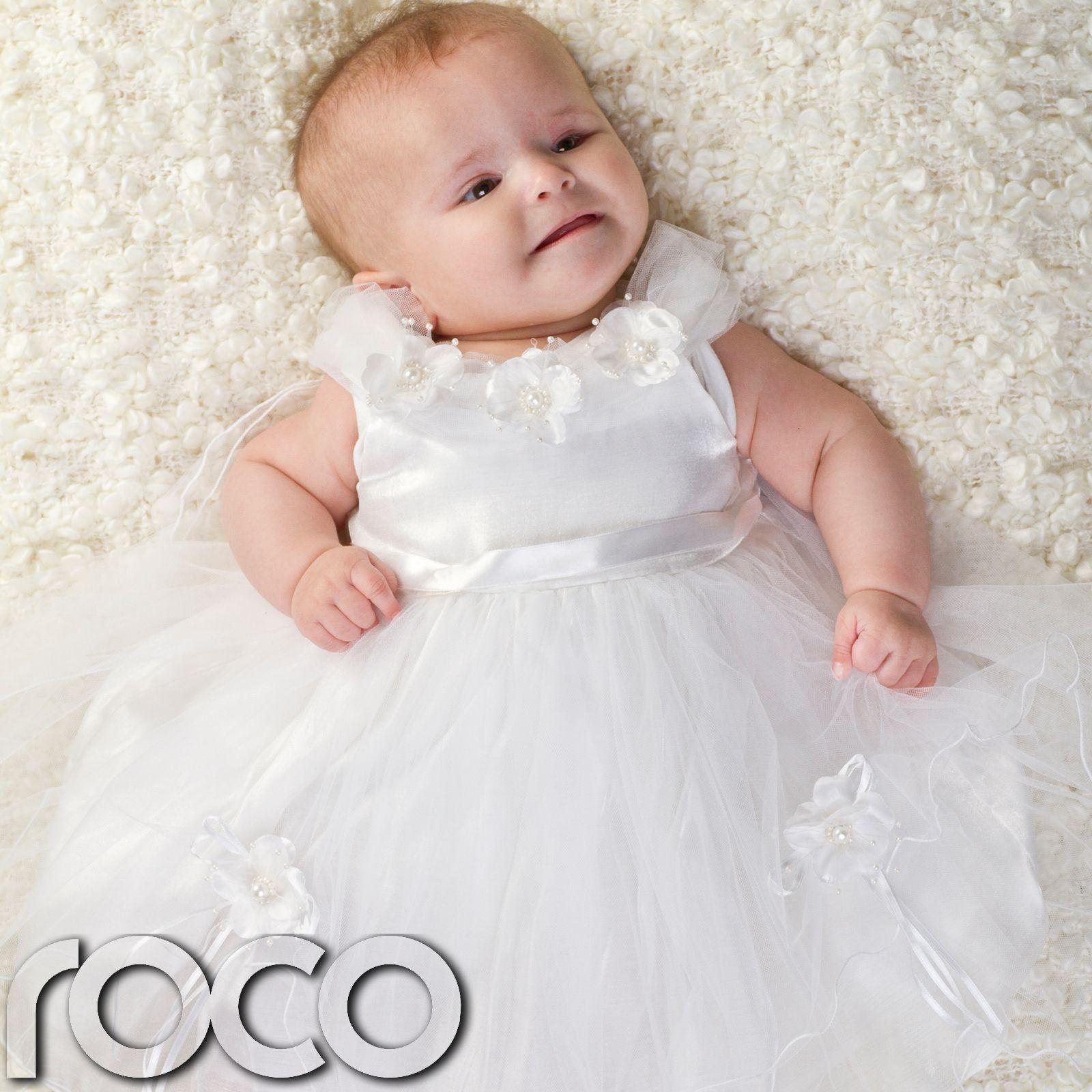 White wedding dress for baby girl