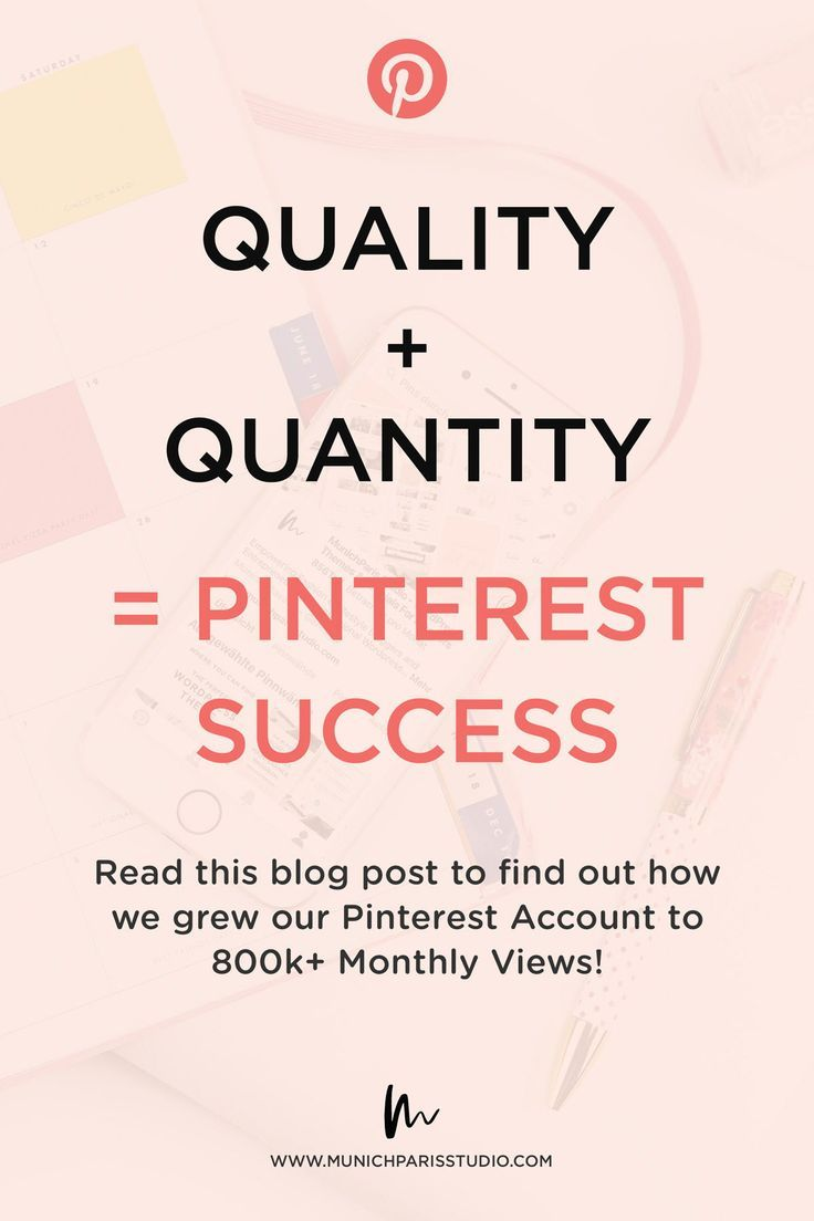 How we use Pinterest to grow our Business and Website