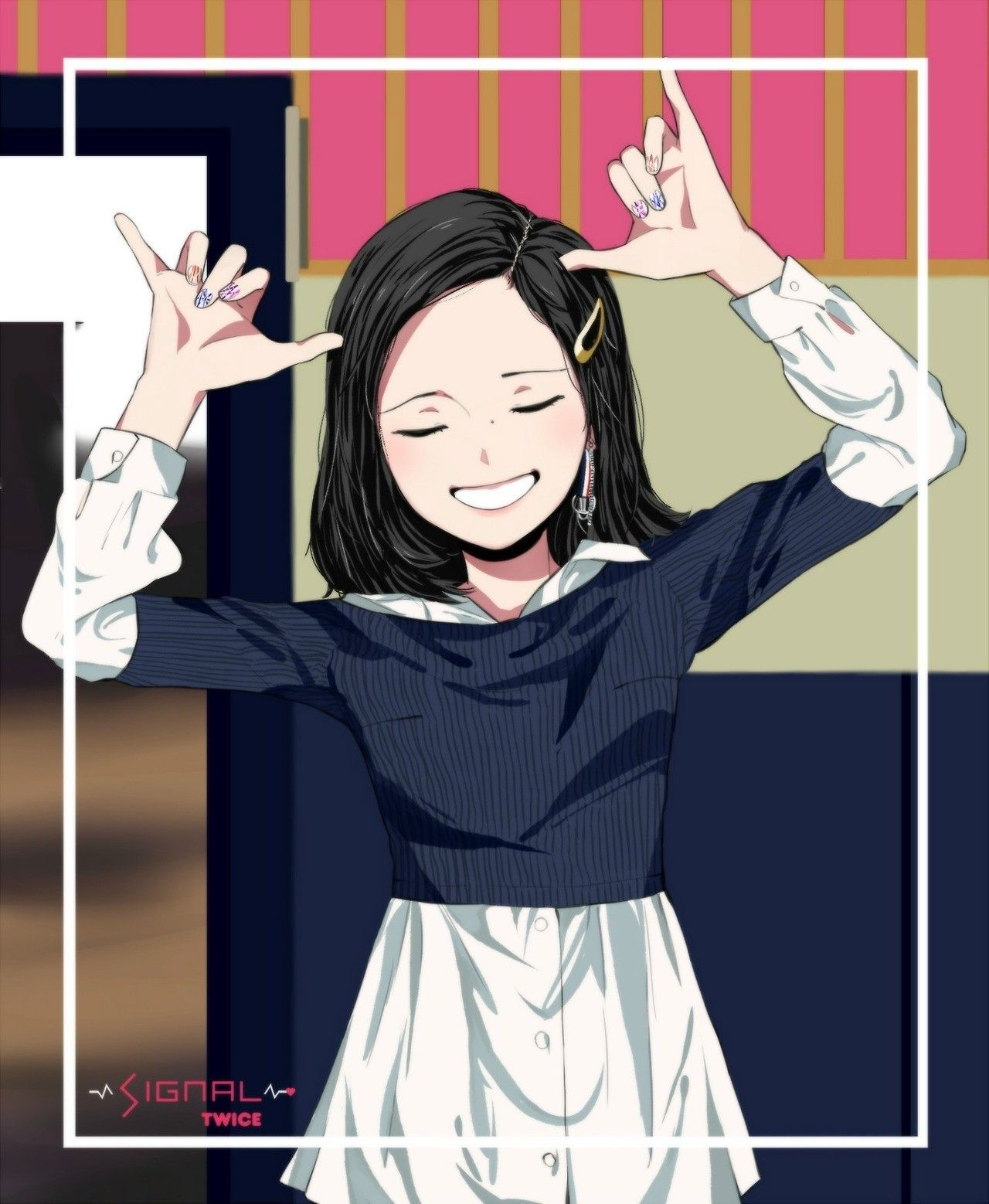 Mina (Twice member) Animasi