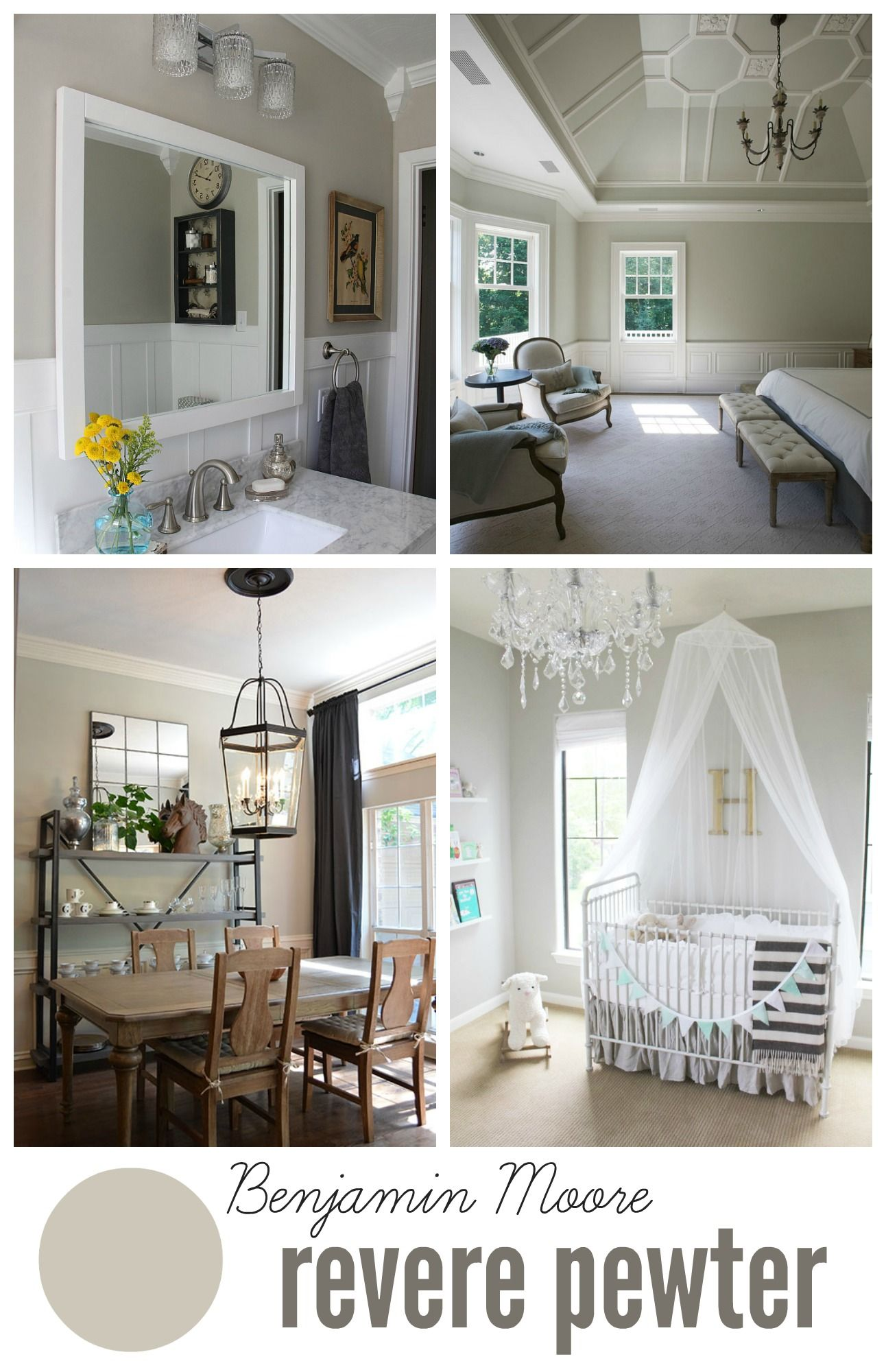 Benjamin Moore Revere Pewter Paint Colors For Home Revere Pewter Neutral Paint Colors #revere #pewter #living #room #ideas