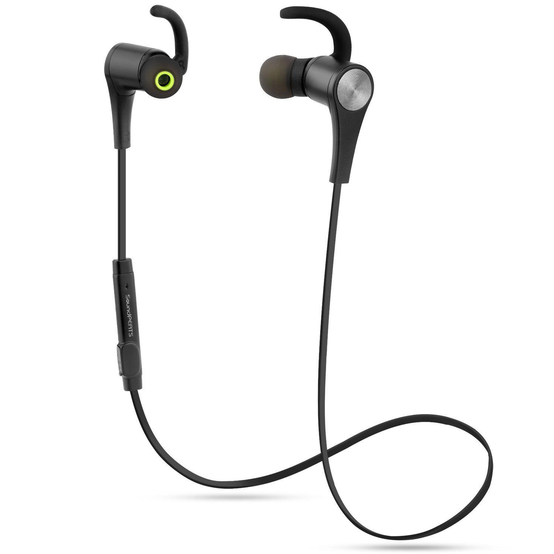 Soundpeats Bluetooth Headphones Magnetic Wireless Earbuds Sport In Mini Microphone Hf For Smule Mic Ear Sweatproof Earphones With 41 Aptx 6 Hours Play Time