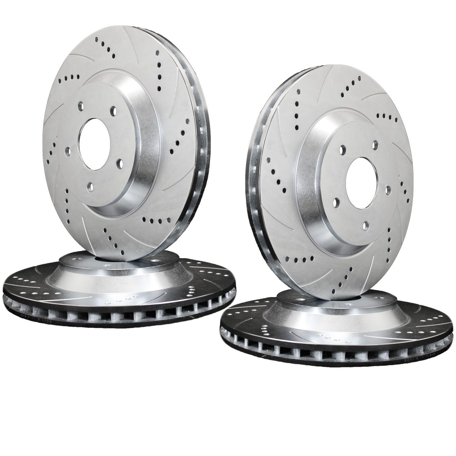 Need Brakes? Try Our Drilled And Slotted Rotors. They Help