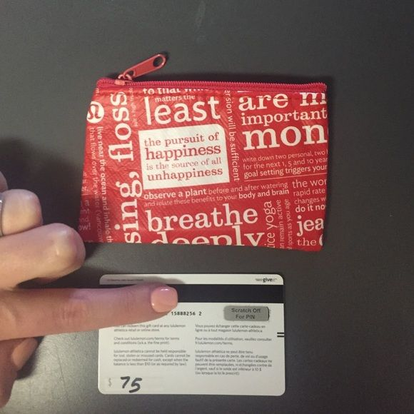 Where Is The Pin On A Lululemon Gift Card Off 55 Www Mikrobiyolbul Org