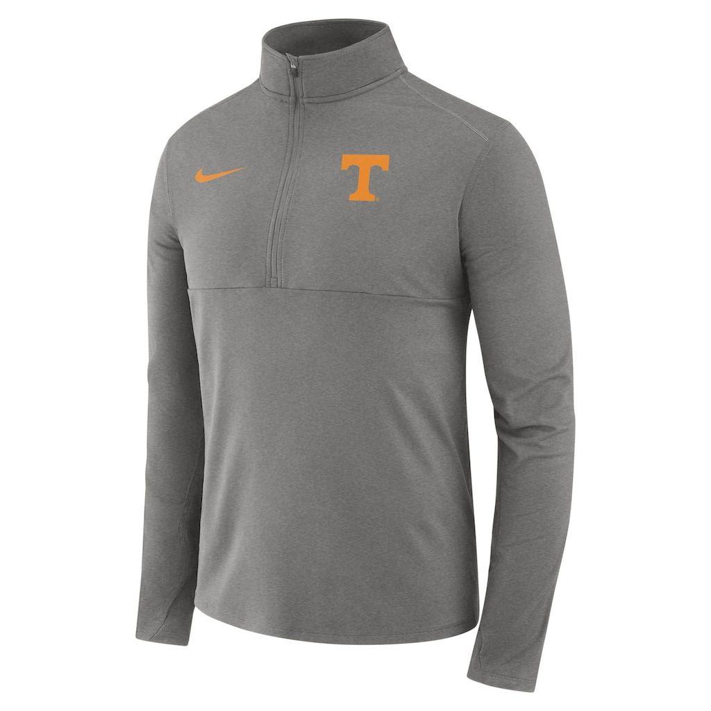 0b8641683c3c Men s Nike Tennessee Volunteers Element 1 2-Zip Pullover Top