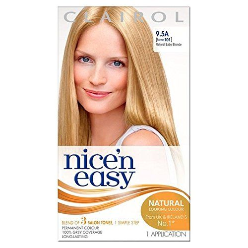 Introducing Nice N Easy Hair Dye Natural Baby Blonde 95a Pack Of 4