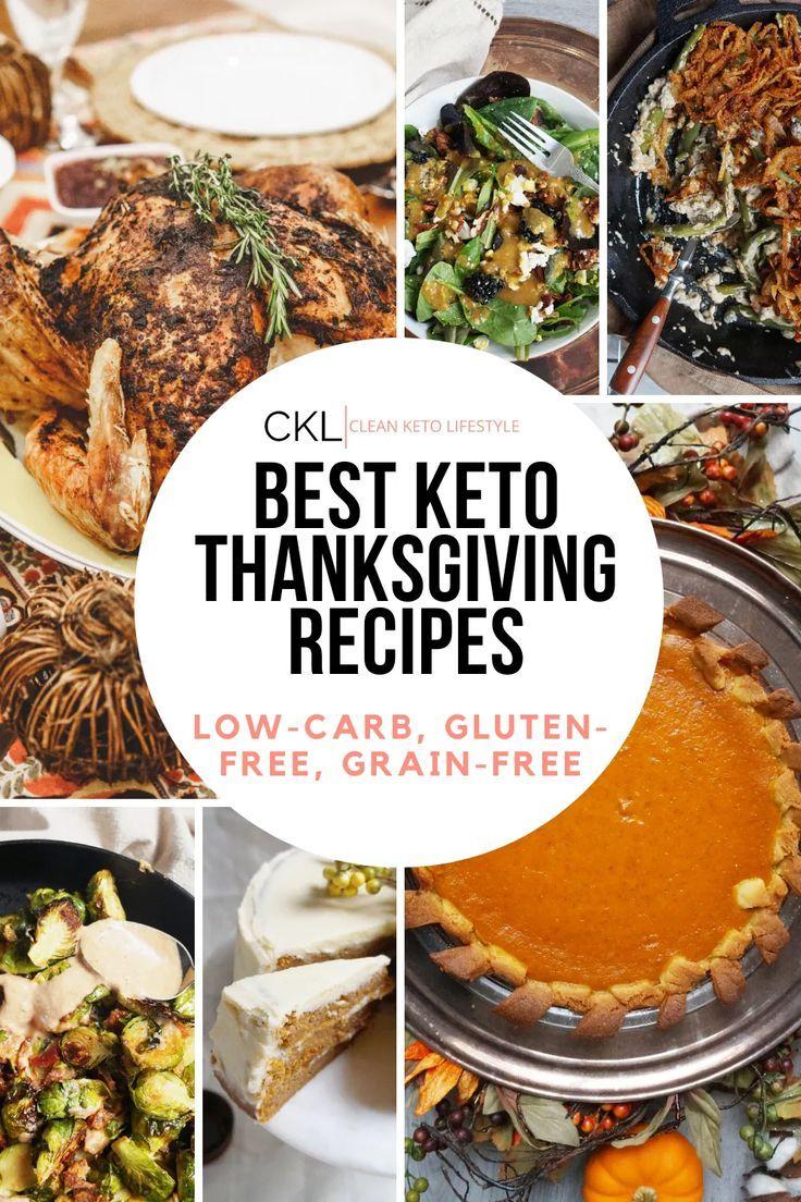 Keto Thanksgiving Recipe Round Up Food Recipes Thanksgiving