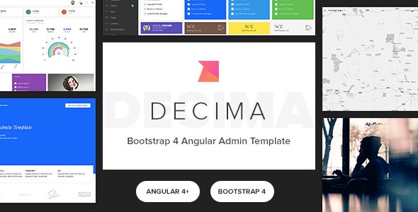 Decima - Bootstrap 4 Angular 5 Admin Template | Pinterest | Lazy ...