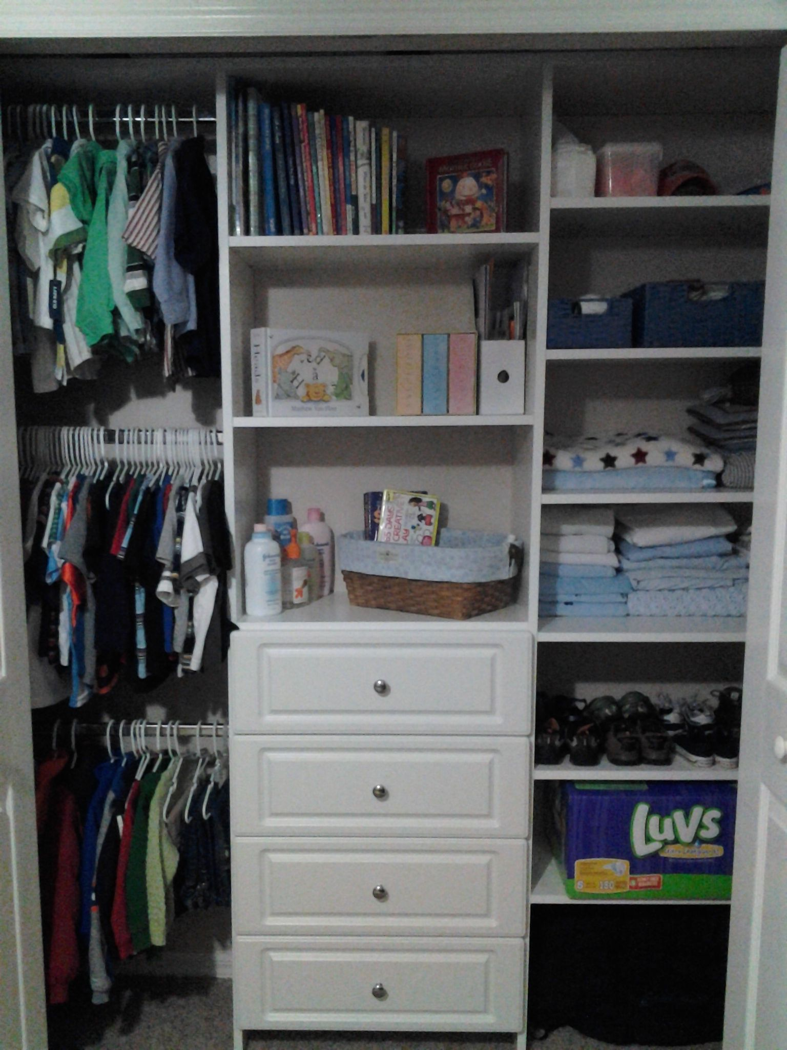 Pin by The Closet Monkey on ReachIn Closets Reach in