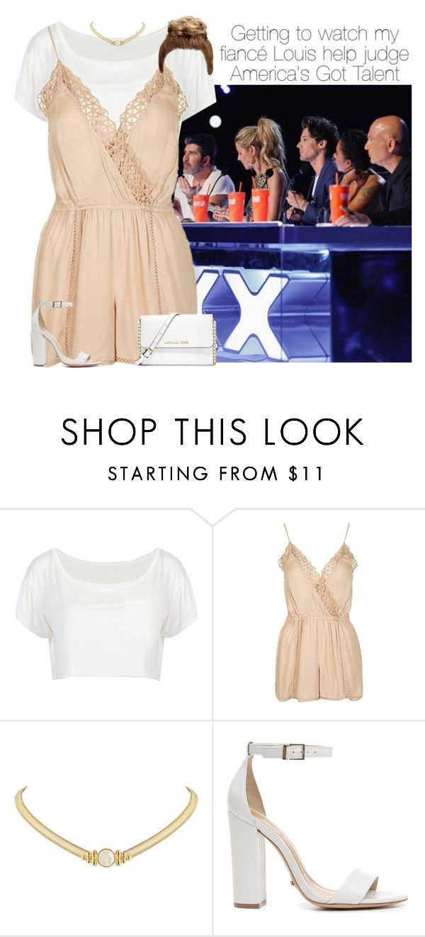 """""""Louis Tomlinson"""" by fashionglamstyle ❤ liked on Polyvore featuring Topshop, House of Harlow 1960, Schutz and MICHAEL Michael Kors"""