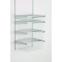 109 Cdn Tire Closetmaid 4 Drawer Shelf Track Basket Kit Drawer Shelves Drawers Closet System