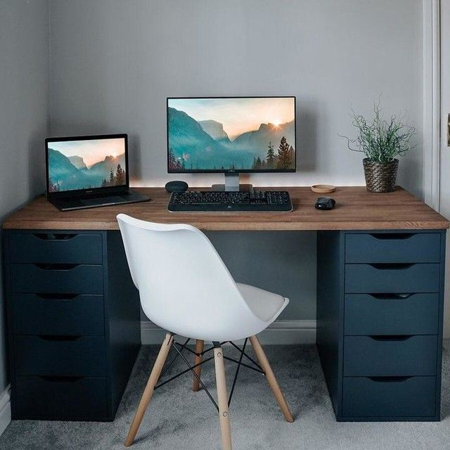 Ikea Real Homes In 2020 Home Office Setup Bedroom Setup Workspace Inspiration