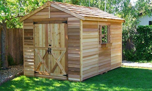 10 Free Plans To Build A Shed From Recycle Pallet | The Self .
