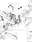 Poulan 2150 Parts List And Diagram Type 1 Ereplacementparts Com Gas Chainsaw Gas Repair