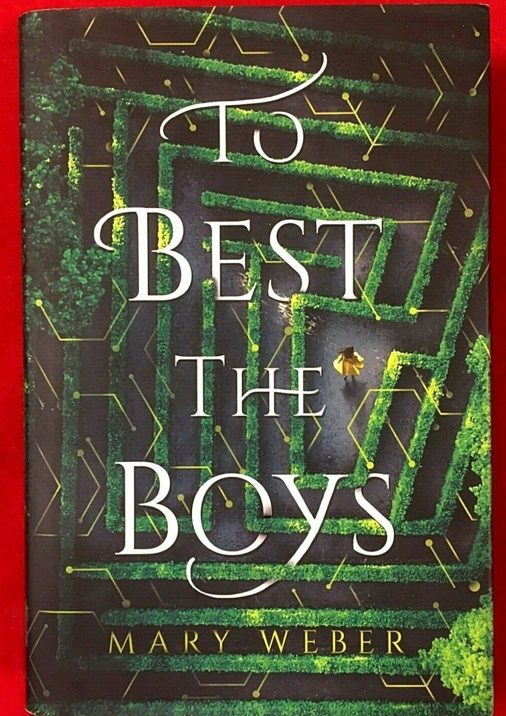 To Best The Boys by Mary Weber (Hardback, 1st Ed, Signed, 2019) Please see photos for publishing information Condition - Very good, no marks or damage (see photos)