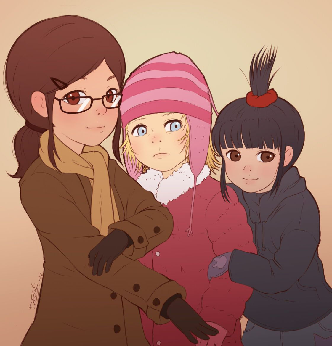 Картинки аниме гадкий