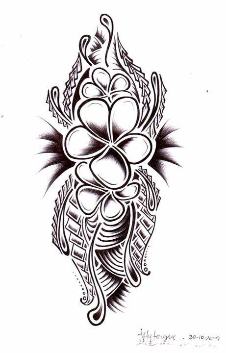 samoan tribal flower designs wwwpixsharkcom images