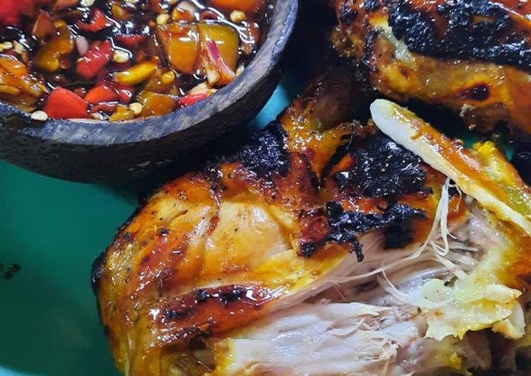 Resep Ayam Bakar Tanpa Santan Resep Ayam Rebusan Tumis