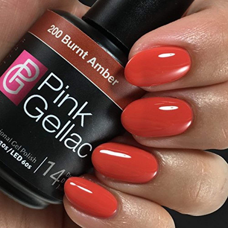 Pink Gellac 200 Burnt Amber Uv Led Gel Polish 15ml 0 5 Fl Oz Check Out The Image By Visiting The Link Th Nail Polish Gel Nails Diy Glitter Gel Nails