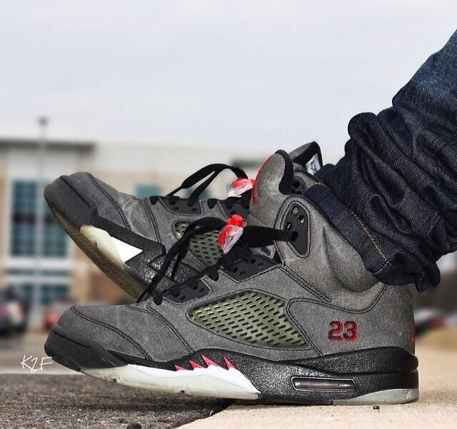 3M 5's of the Raging Bull pack via kicks2fly on Instagram