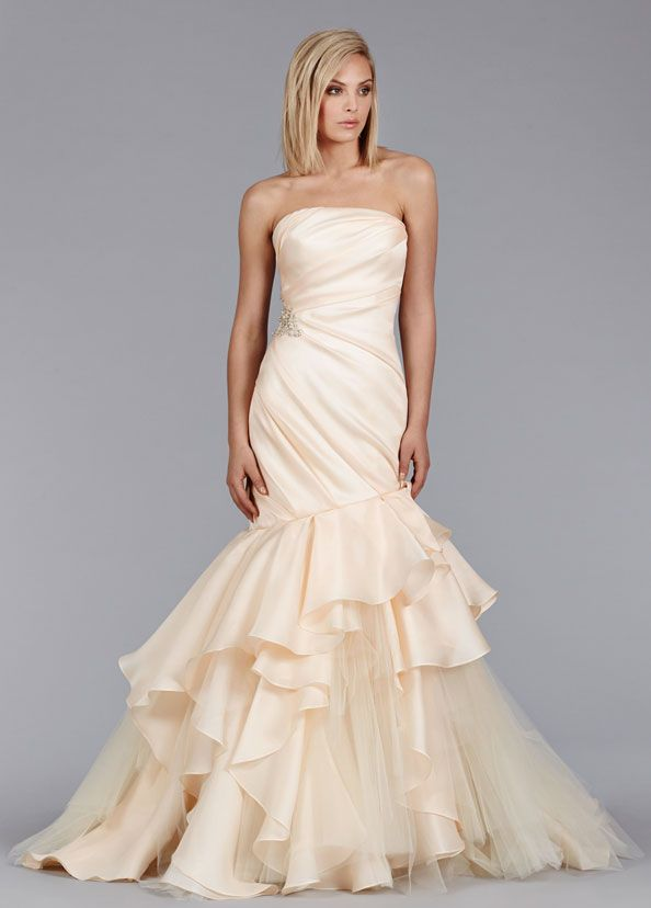 Jim Hjelm 8462 | Couture bridal, Bridal gowns and Chapel train