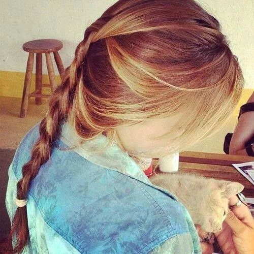 love this braid | Capelli