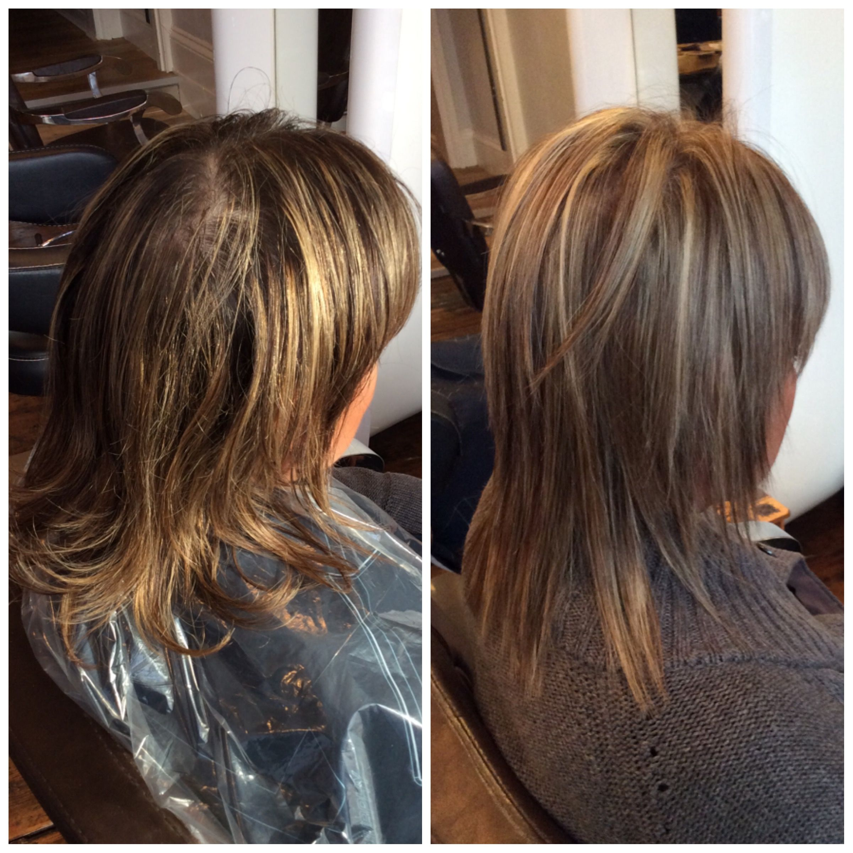 Before And After Highlights New Hair Ash Hair Hair Salon