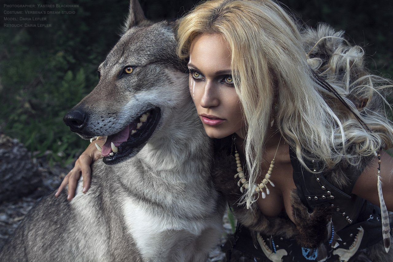 Картинки волчицы женщины