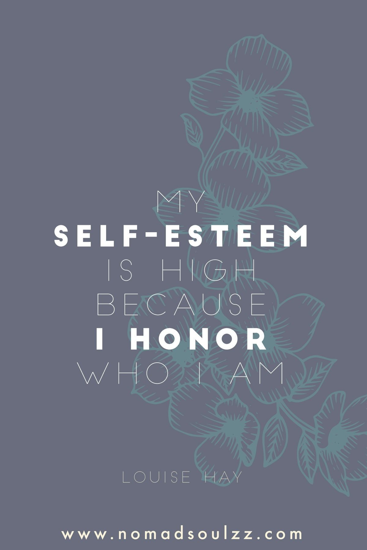 Affirmations For Self Esteem Louise Hay