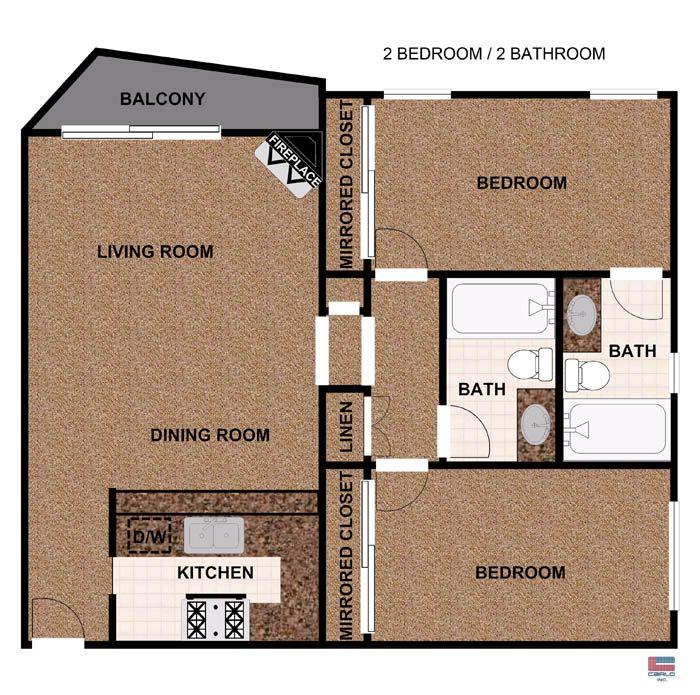 Studio 1 2 Bedroom Apartments In Studio City Ca Floor Plans Studio City Apartment Studio Apartment Floor Plans Apartment Floor Plans