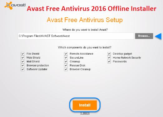 avast free antivirus full setup file download