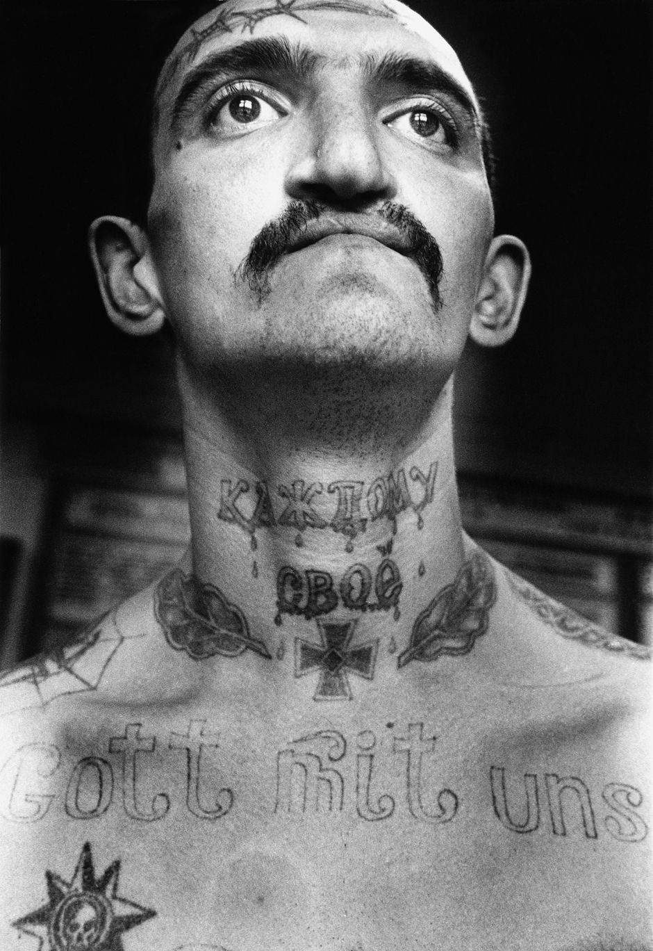 Brighton beach insane face tattoos - Sergei Vasiliev Russian Criminal Tattoo Encyclopaedia Print Gaiety Is The Most Outstanding Feature Of The Soviet Union