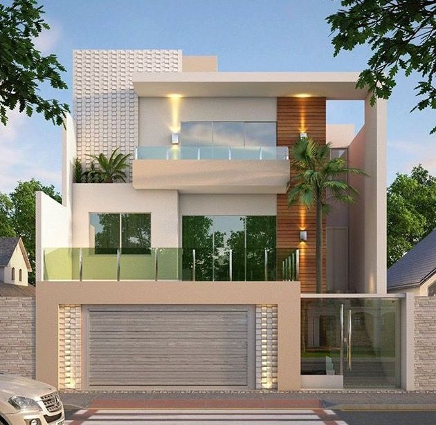 Small House Elevation Design House Elevation: Pinterest: @Officialkyra☽ #ExteriorDesignResidence