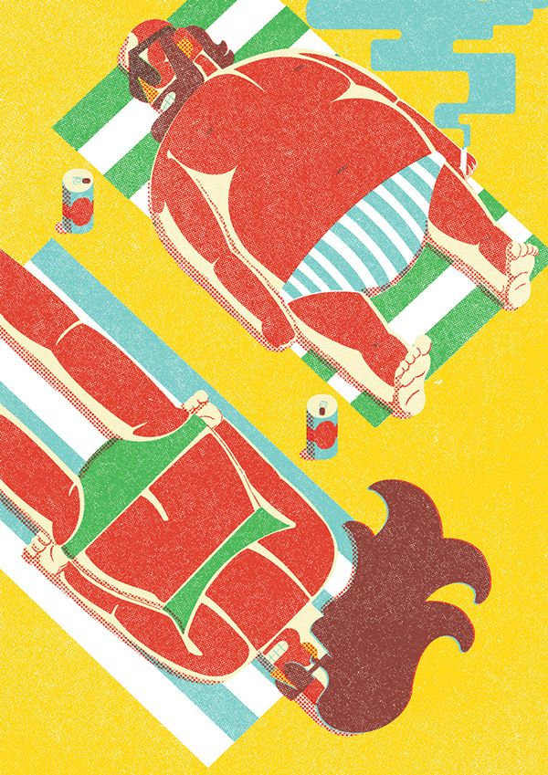 I drew what you did last summer part 1 on Behance