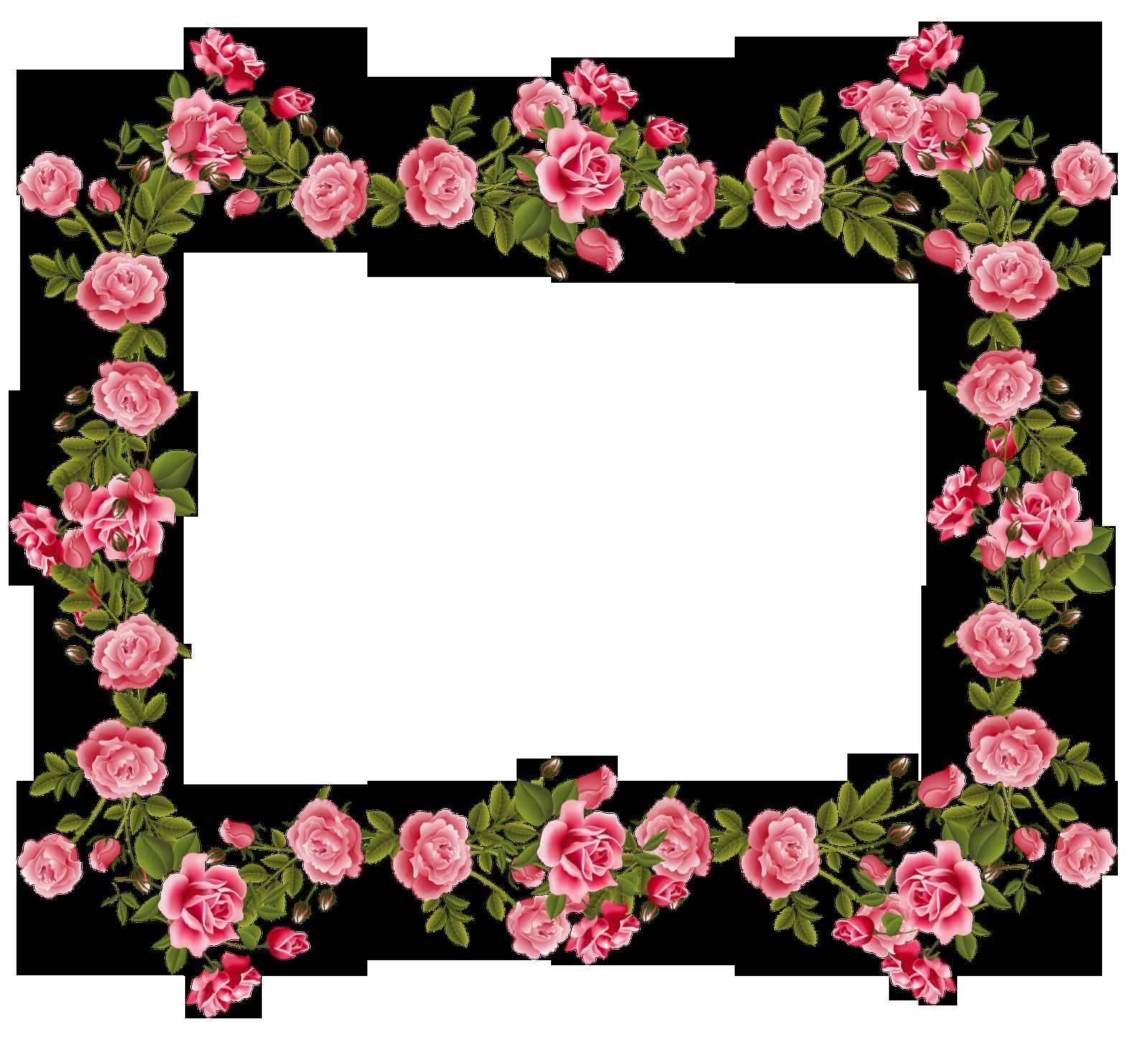Rose Borders And Frames Roses Scrapbooking Frames And Journaling Spot And Butterfly Border Flower Border Rose Frame Vintage Roses