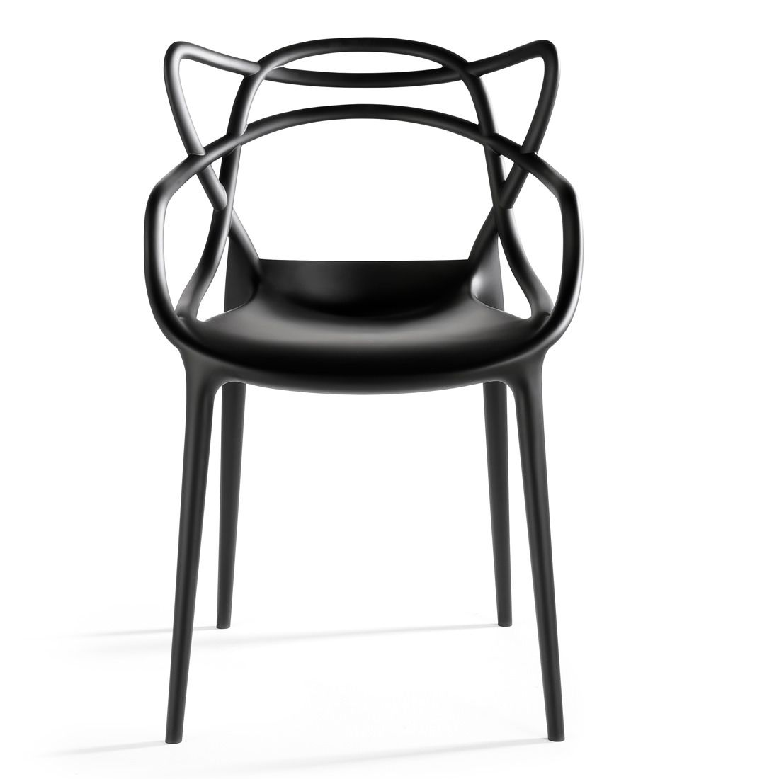 2xhome Black Stackable Contemporary Modern Designer Molded Plastic Chairs Assembled With Arms Open Back Armchairs For Kitchen Dining Chair Outdoor Patio Bedroom Masters Chair Molded Plastic Chairs Plastic Chair