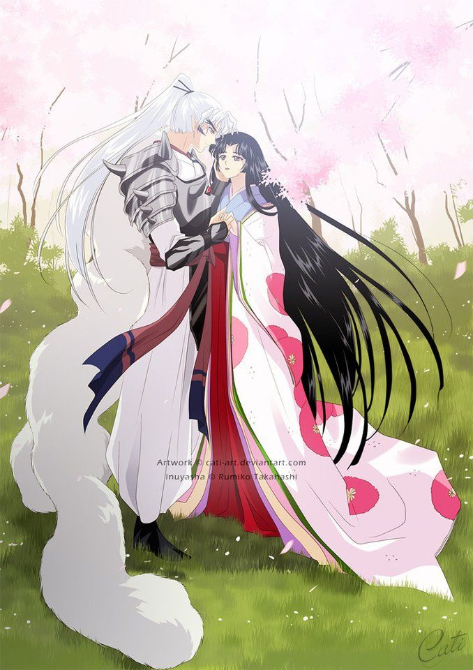 Inu No Taisho And Izayoi Inuyasha S Parents Inuyasha Fan Art