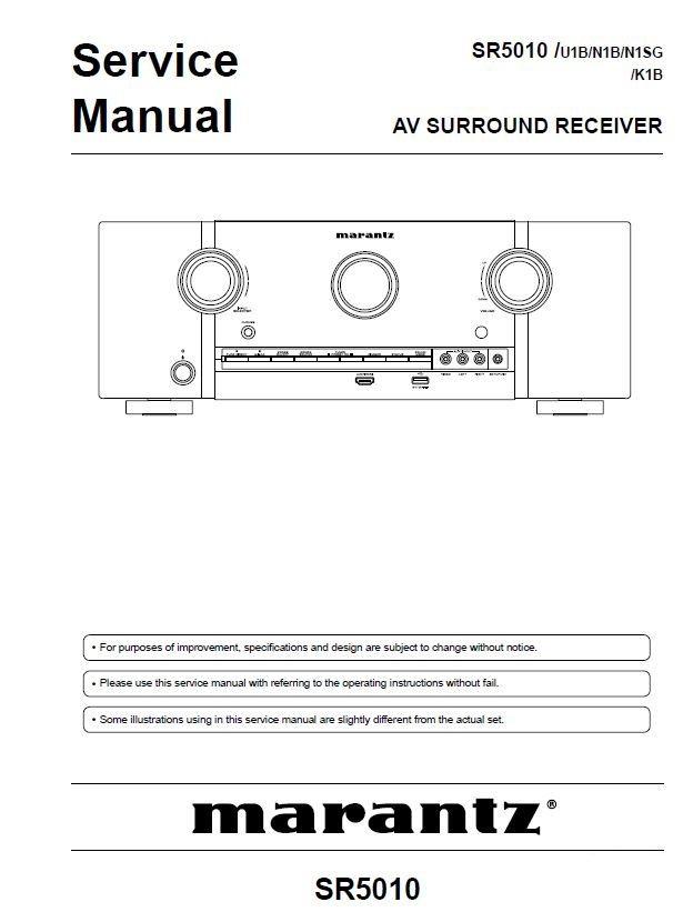 marantz sr5010 network av surround receiver service manual repair rh pinterest com Digital Mixing Console Yamaha 01V96 Digital Mixing Console Yamaha 01V96