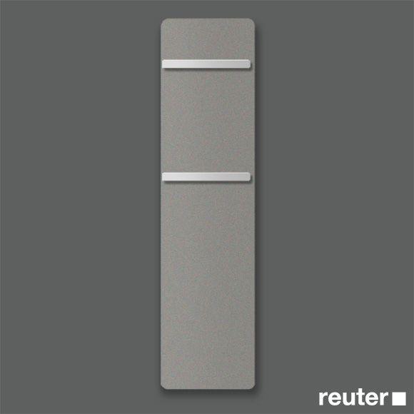 Zehnder Vitalo Badheizkörper H: 157 Cm Für Rein Elektrischen Betrieb Grey  Aluminium Breite 50 Cm