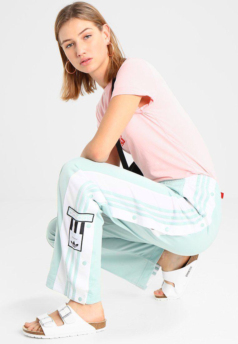 adidas byxor med rosa ränder