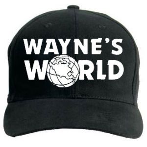 64109325635ec WAYNES WORLD HAT! I WANT IT!