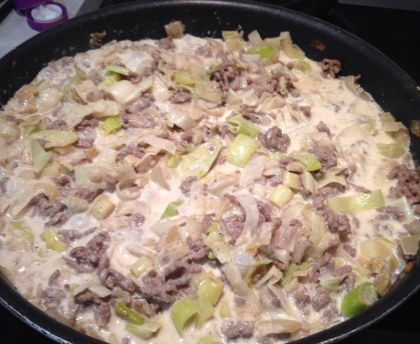 Photo of Leek and minced meat delight