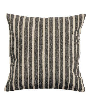 UL31a Off White Stripe Line Velvet Style Cushion Cover//Pillow Case *Custom Size*
